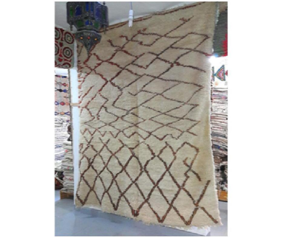 Les tapis beni ouarain de l'Atlas