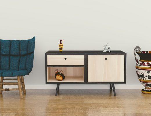 la tendance du meuble en bois