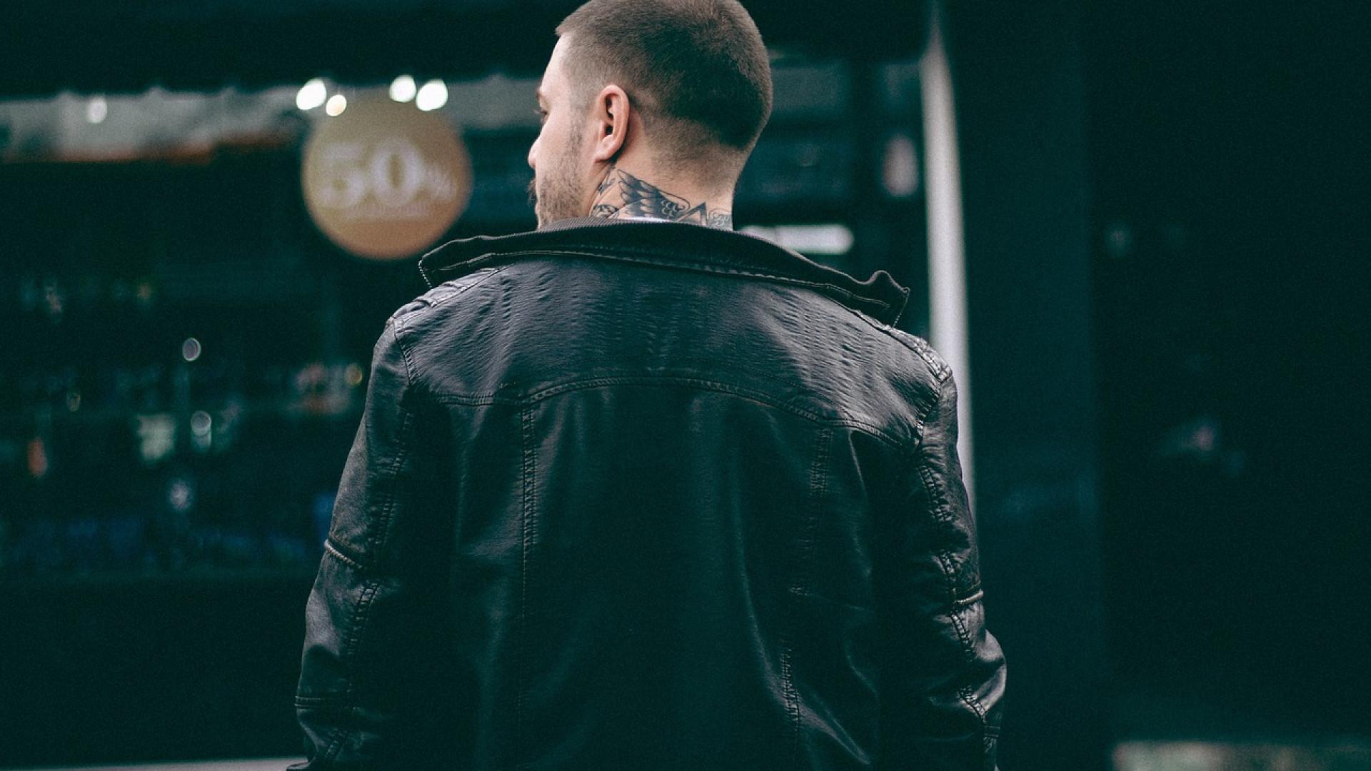 L'indémodable veste en cuir
