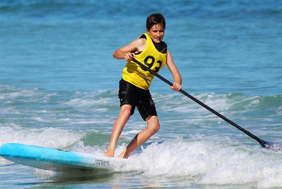 Stand Up Paddle au soleil