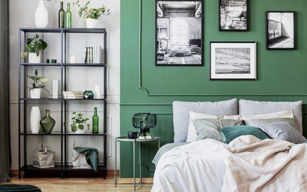 Le vert : une couleur idéale pour votre chambre