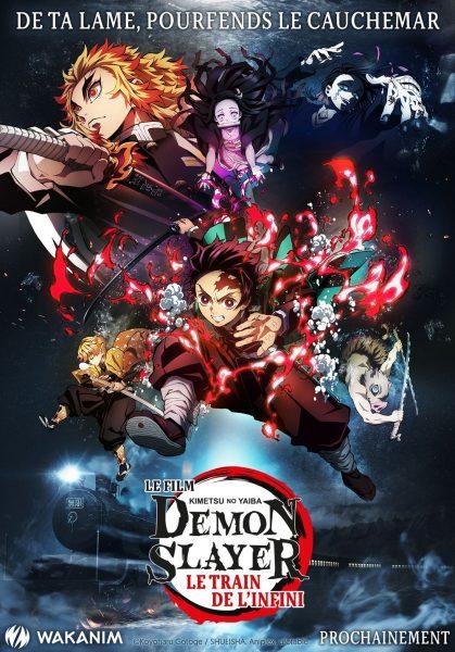 affiche film demon slayer