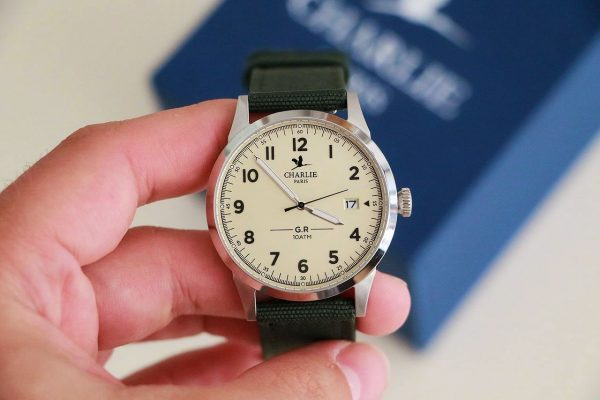 montre française pour homme Charlie Paris