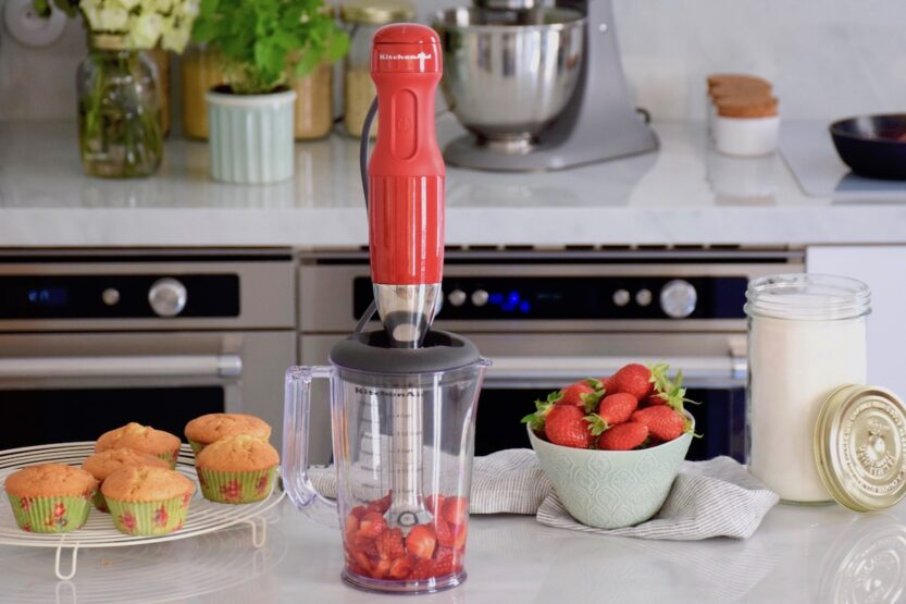 You are currently viewing Le mixeur plongeant Kitchenaid